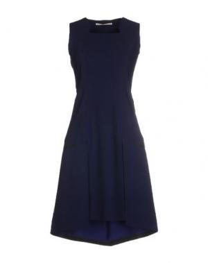 Короткое платье MARITHÉ + FRANÇOIS GIRBAUD. Цвет: синий