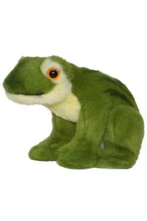 Зеленая лягушка, 16 см Hansa. Цвет: мультиколор