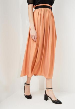 Юбка Liu Jo. Цвет: оранжевый