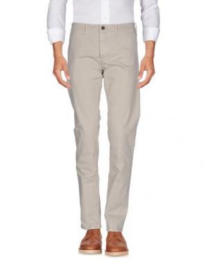 Повседневные брюки HAMPTONS. Цвет: бежевый