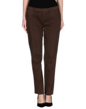 Повседневные брюки D-21. Цвет: какао