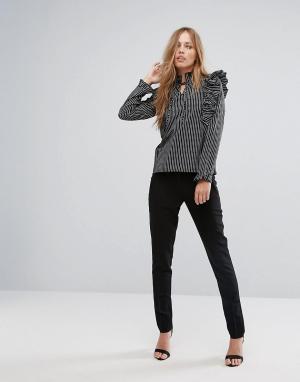 New Look Облегающие брюки. Цвет: черный