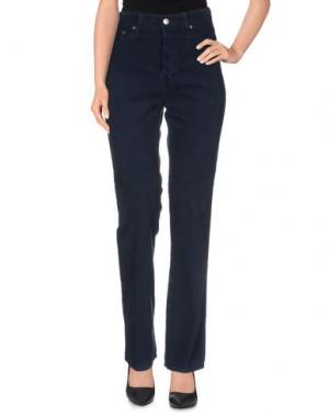Повседневные брюки ALEXA CHUNG for AG. Цвет: темно-синий