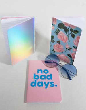 BAN DO Набор из 3 блокнотов Ban.Do No Bad Days. Цвет: мульти