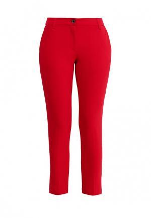 Брюки Gaudi. Цвет: красный