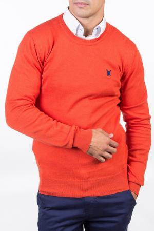Пуловер POLO CLUB С.H.A.. Цвет: оранжевый