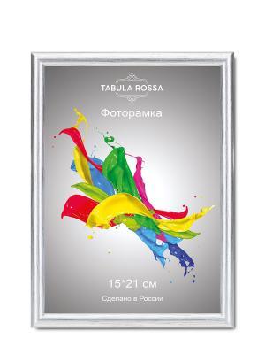 Фоторамка 15х21 №451 Tabula Rossa. Цвет: серебристый