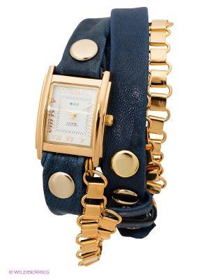 Часы La Mer Collections. Цвет: синий, золотистый