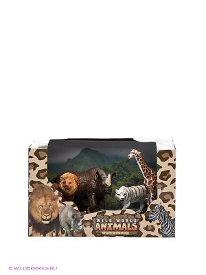 Игровой набор Дикие животные Happy Kin. Цвет: коричневый, белый