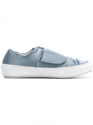 Fringed sneakers Pedro Garcia. Цвет: синий