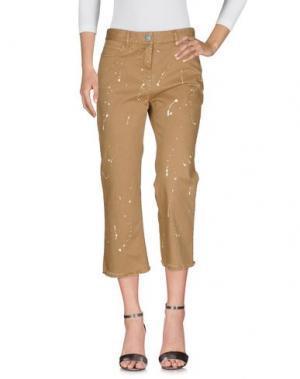 Джинсовые брюки WHITE SAND 88. Цвет: хаки