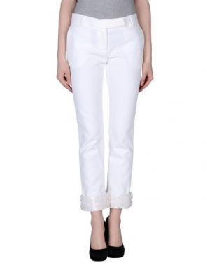 Повседневные брюки GATTINONI. Цвет: белый