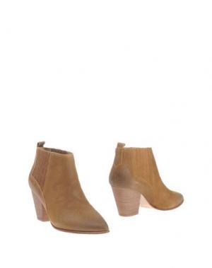 Полусапоги и высокие ботинки BELLE BY SIGERSON MORRISON. Цвет: верблюжий