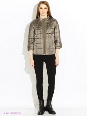 Куртка Baon. Цвет: хаки, бронзовый, серый меланж