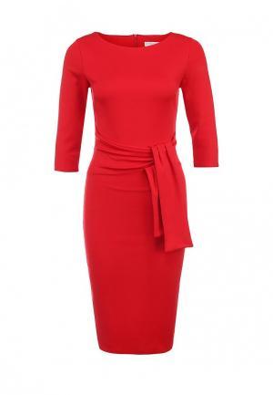 Платье City Goddess. Цвет: красный