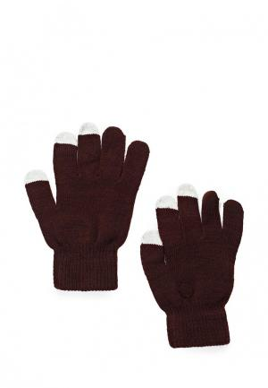 Перчатки Piazza Italia. Цвет: коричневый