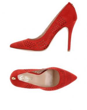 Туфли GATTINONI. Цвет: красный