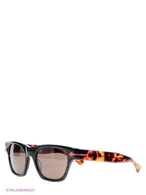 Солнцезащитные очки TM 528S 02 Opposit. Цвет: коричневый