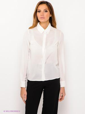 Блузка ZARINA. Цвет: молочный