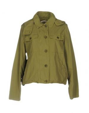 Куртка EMMA&GAIA. Цвет: зеленый-милитари
