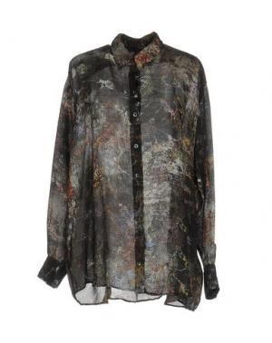 Pубашка HIGH. Цвет: темно-зеленый