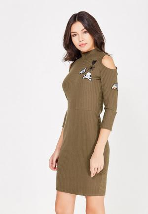 Платье Jennyfer. Цвет: хаки