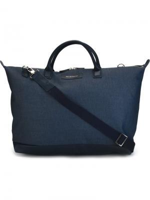 Дорожная сумка Hartsfield Want Les Essentiels De La Vie. Цвет: синий