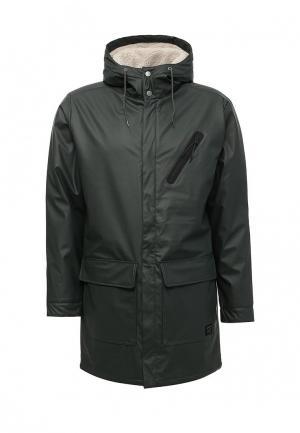 Куртка утепленная Quiksilver. Цвет: зеленый
