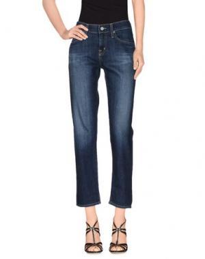 Джинсовые брюки AG ADRIANO GOLDSCHMIED. Цвет: синий