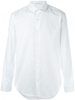 Рубашка с итонским воротником Vangher. Цвет: белый