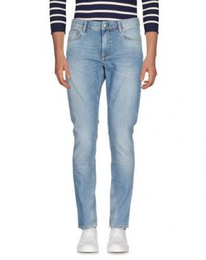 Джинсовые брюки J. LINDEBERG. Цвет: синий