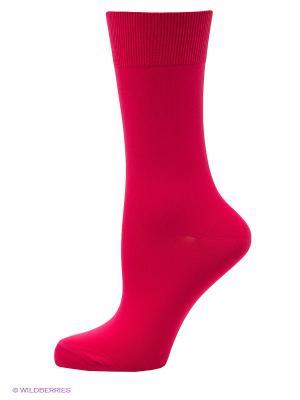 Носки POMPEA. Цвет: красный