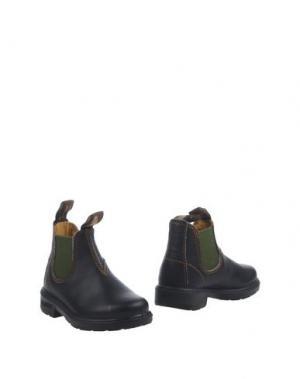 Полусапоги и высокие ботинки BLUNDSTONE. Цвет: темно-коричневый