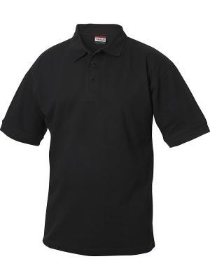 Рубашка поло Линкольн Clique. Цвет: черный