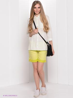 Рубашка Bogner Jeans. Цвет: зеленый, белый