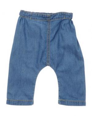 Джинсовые брюки BONNIE BABY. Цвет: синий