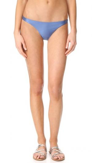Узкие плавки бикини Heartbreaker Suboo. Цвет: голубой