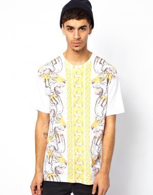 Tiger Paw T-Shirt Rook. Цвет: белый