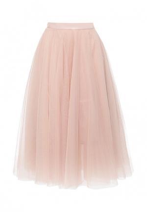 Юбка Zarina. Цвет: розовый