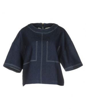 Блузка LE MONT ST MICHEL. Цвет: синий