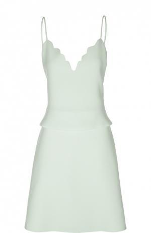 Платье Carven. Цвет: светло-зеленый