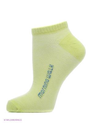 Носки Oodji. Цвет: зеленый