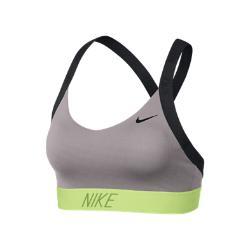 Спортивное бра с легкой поддержкой  Indy Logo Back Nike. Цвет: розовый