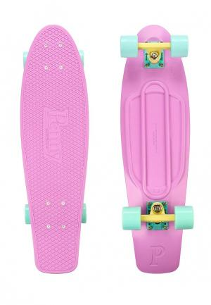 Скейтборд Penny. Цвет: розовый