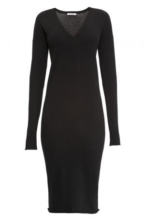 Кашемировое платье 141151 Myone Cashmere. Цвет: черный