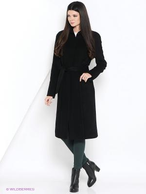 Пальто PALLARI. Цвет: черный
