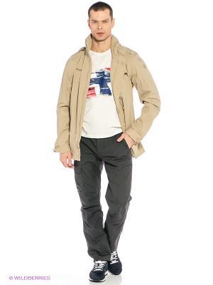 Куртка Bergans. Цвет: бежевый