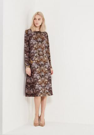 Платье Ksenia Knyazeva. Цвет: коричневый