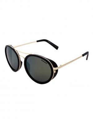 Солнцезащитные очки Exenza. Цвет: черный, оливковый, золотистый