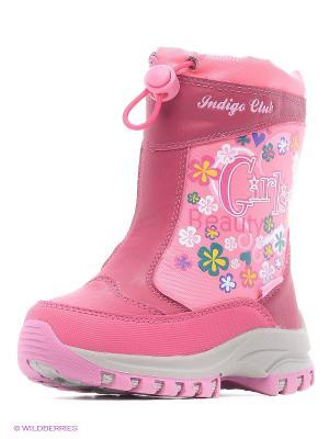 Сапоги Indigo kids. Цвет: розовый